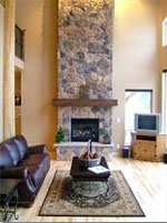 Interior Home Renovation - Fireplace