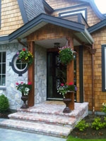 Exterior home renovation