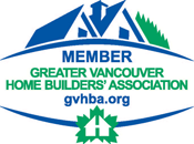 Northrock Homes is a member of the Greater Vancouver Home Builder's Association